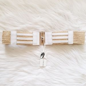 NWT Nine West Stretch Belt